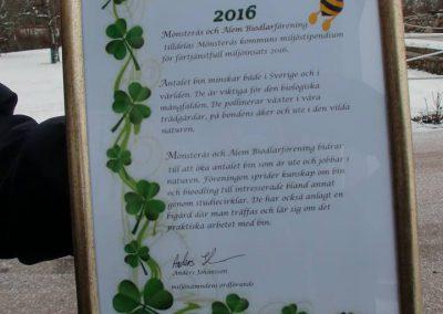 miljöpris 2016